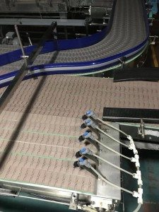 Hairise 820 Straight Slat Top Chain Conveyor