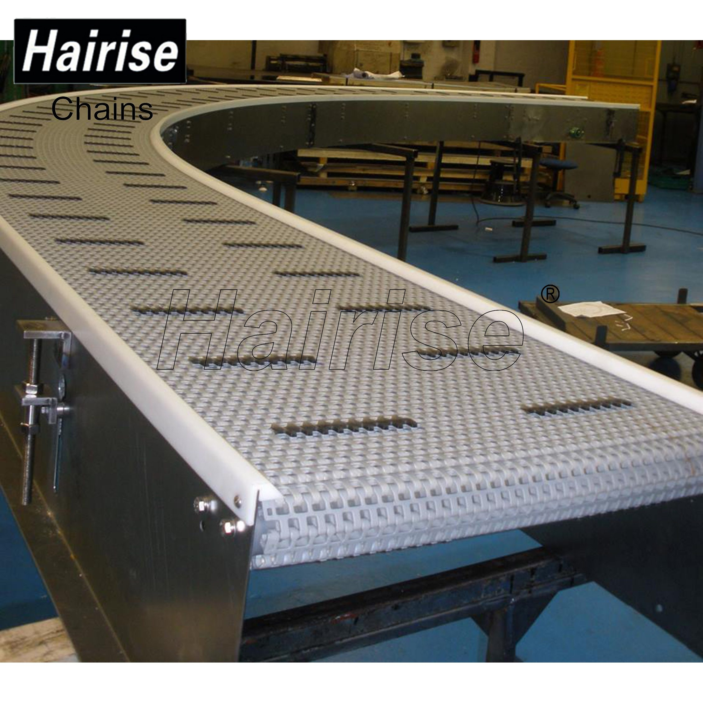 Hairise Curved Conveyors with Modular Belts Featured Image