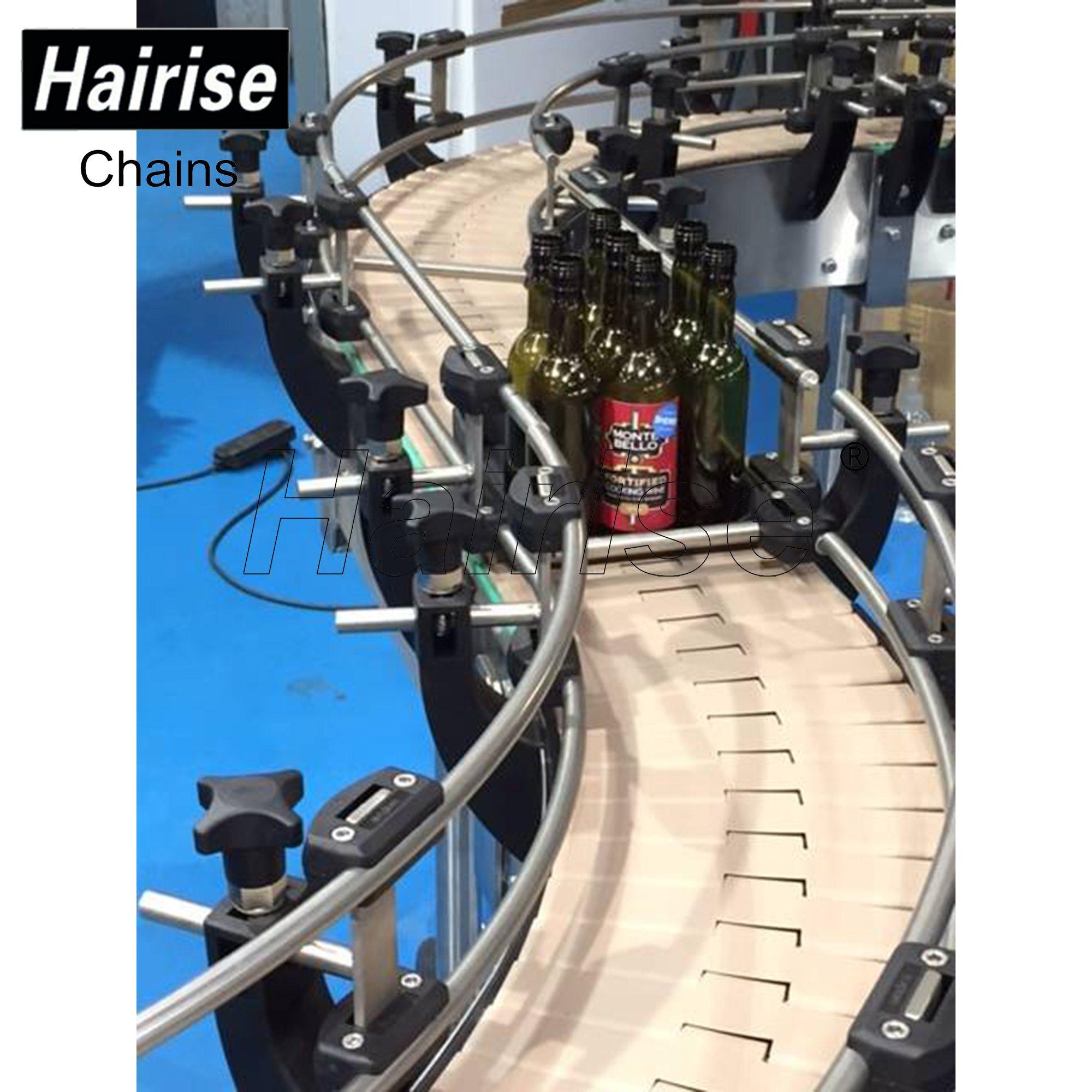 Hairise Food Grade Plastic Belt Conveyor System with Detector