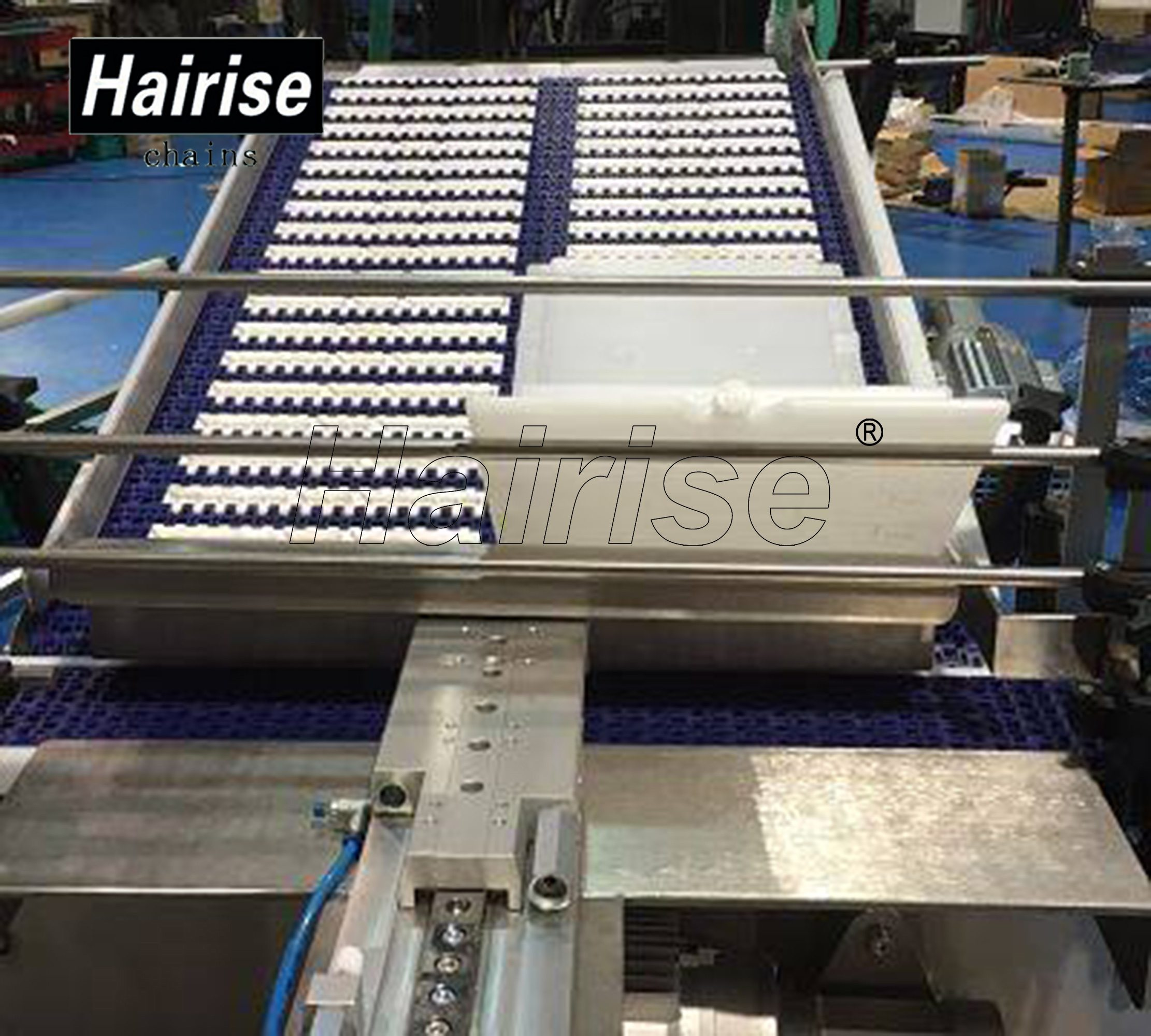 Hairise Inclined Conveyors with Antiskid Rubber on Surface