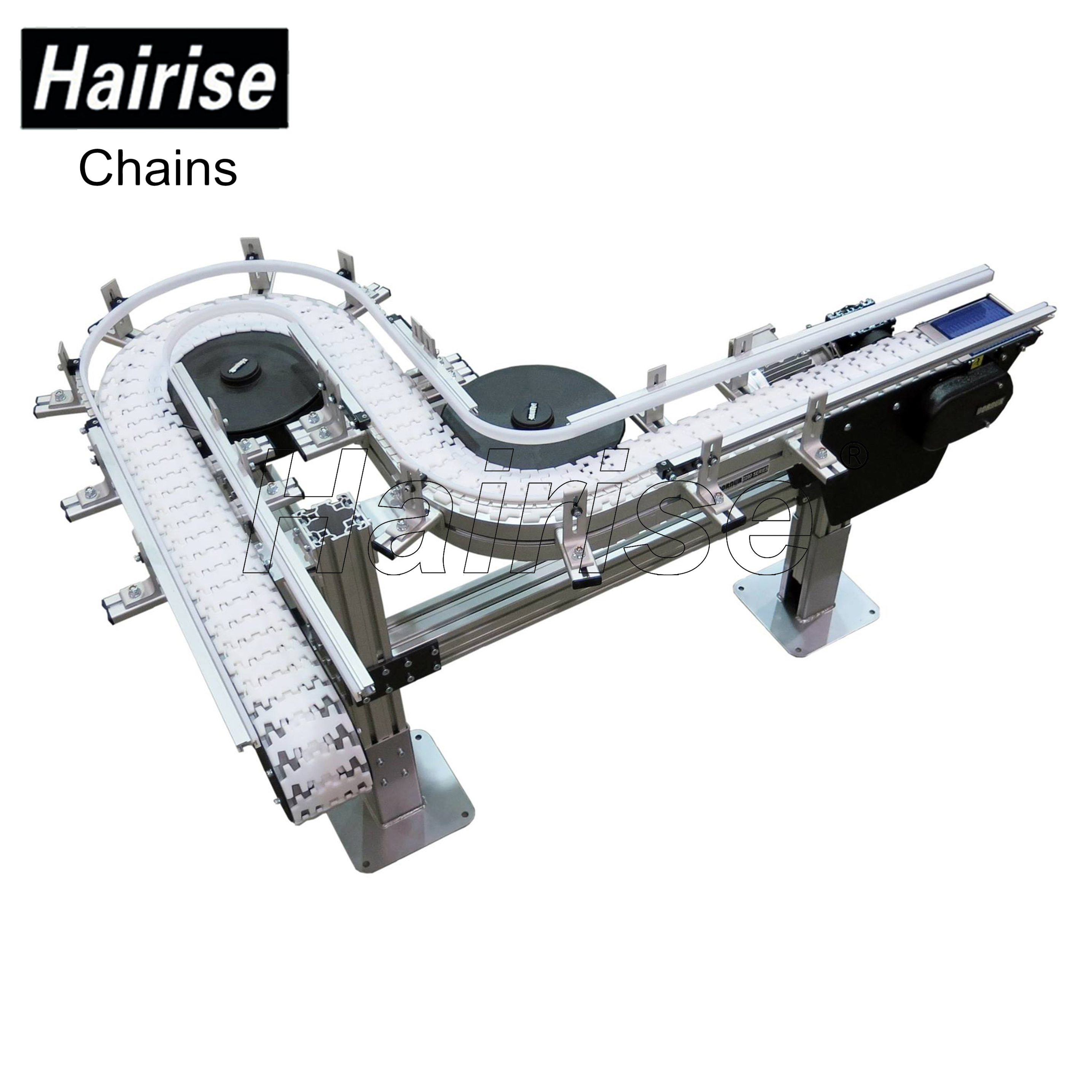 Hairise Curved Conveyors with Multiflex Chains Featured Image