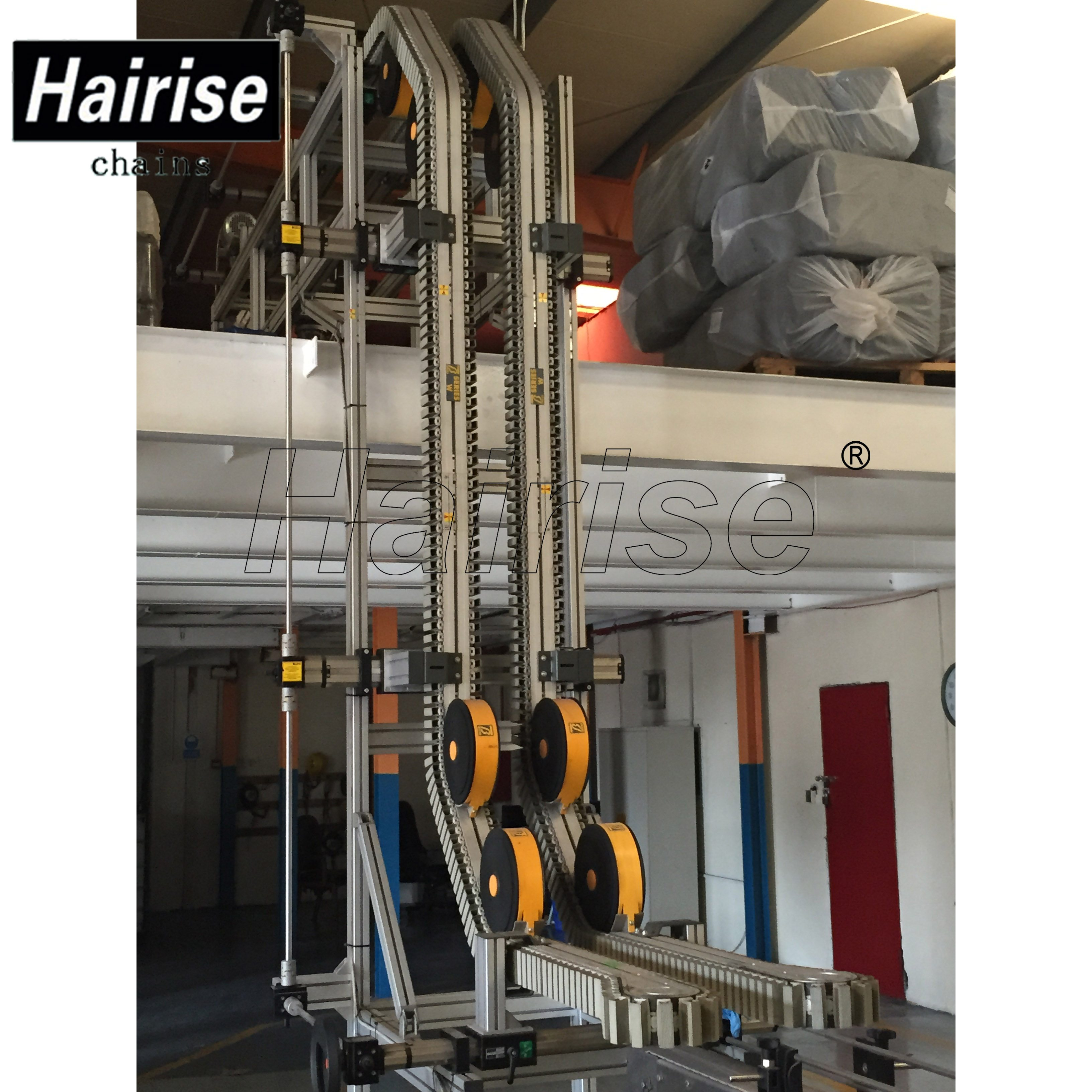 Hairise Inclined Conveyor for Lifting Bottles Featured Image
