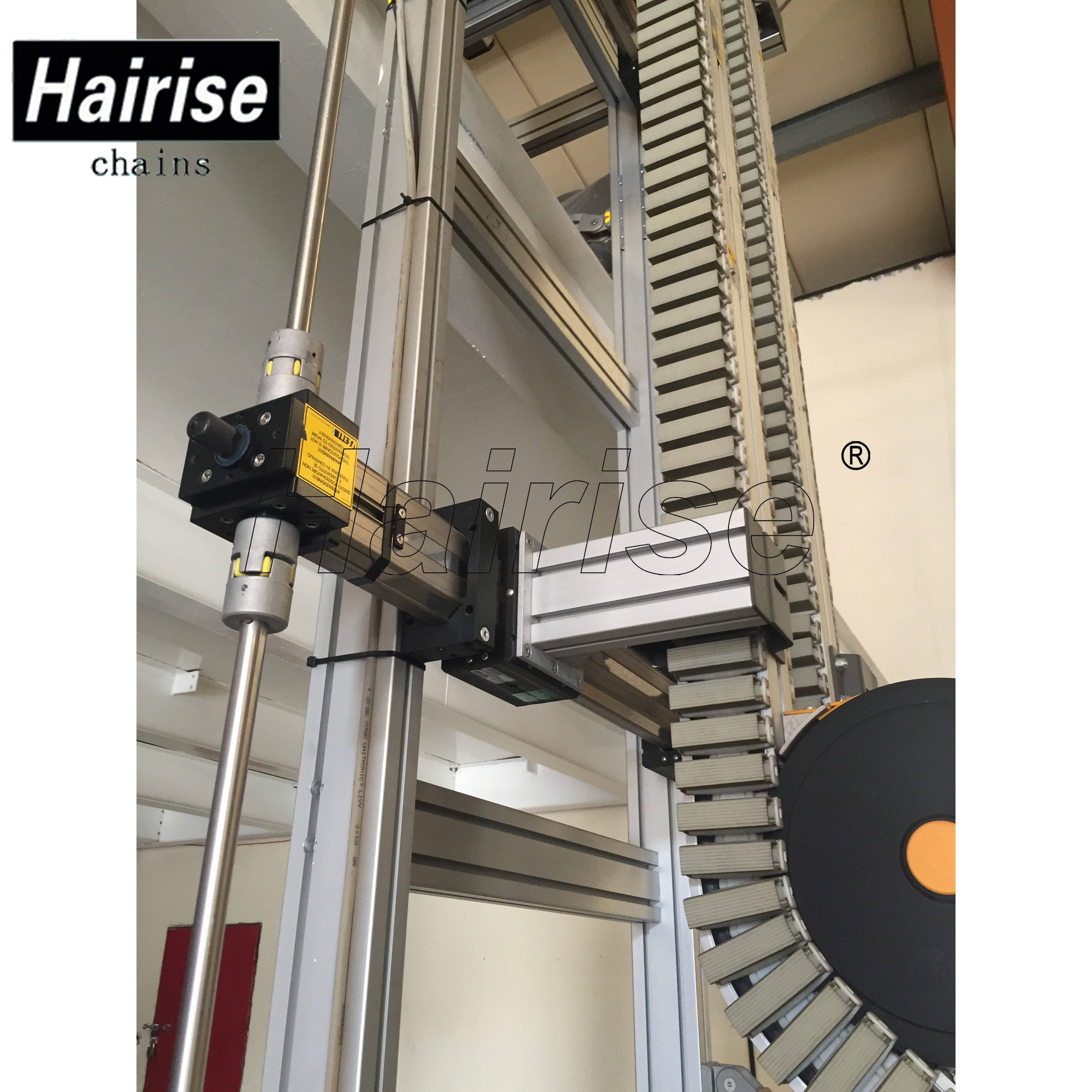 Hairise Inclined Conveyor for Lifting Bottles