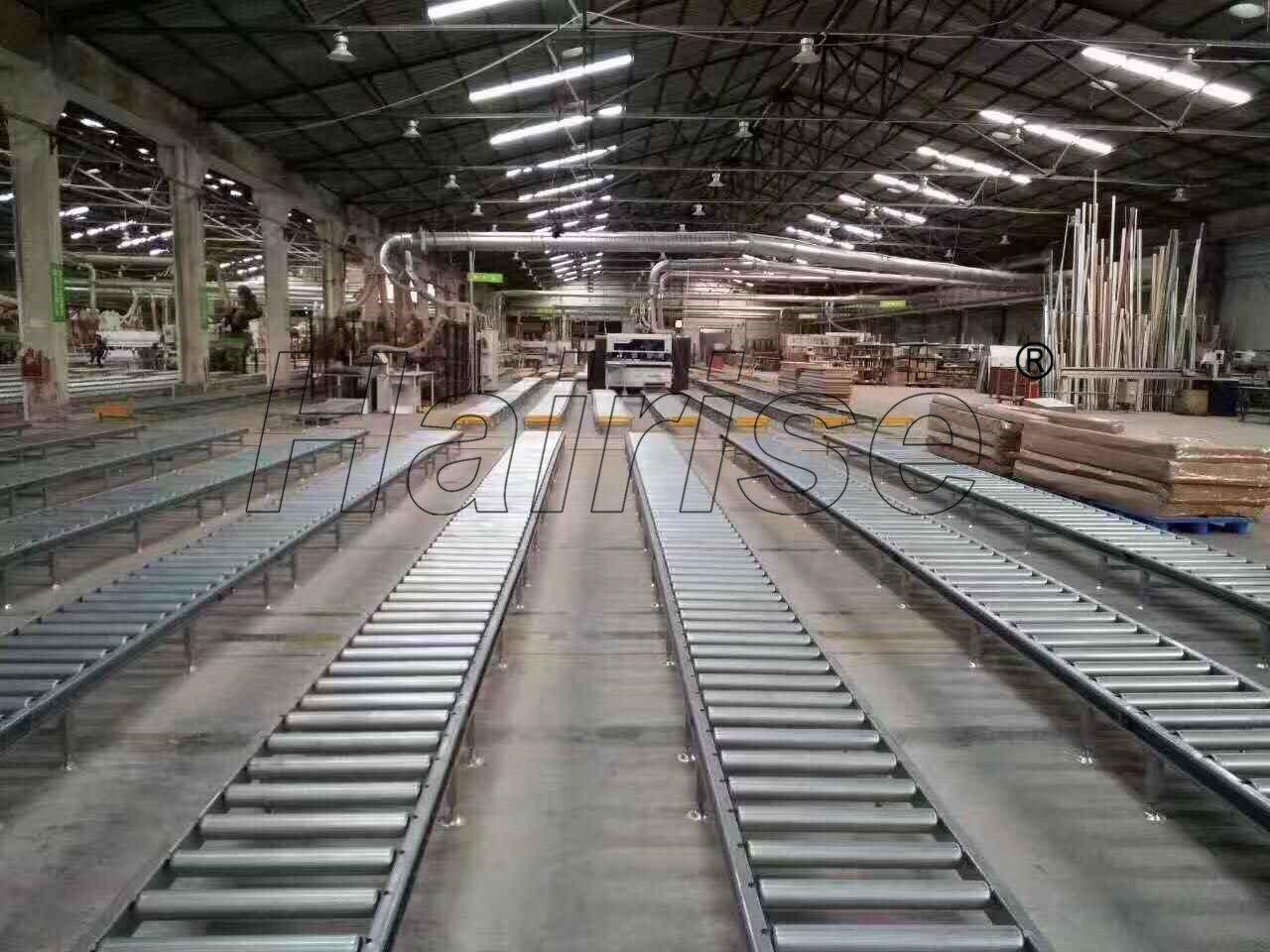 Hairise Roller Conveyor System for Beverage Industry