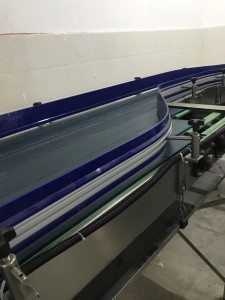 Hairise 1050 Fat top chain Conveyor for Food&Beverage