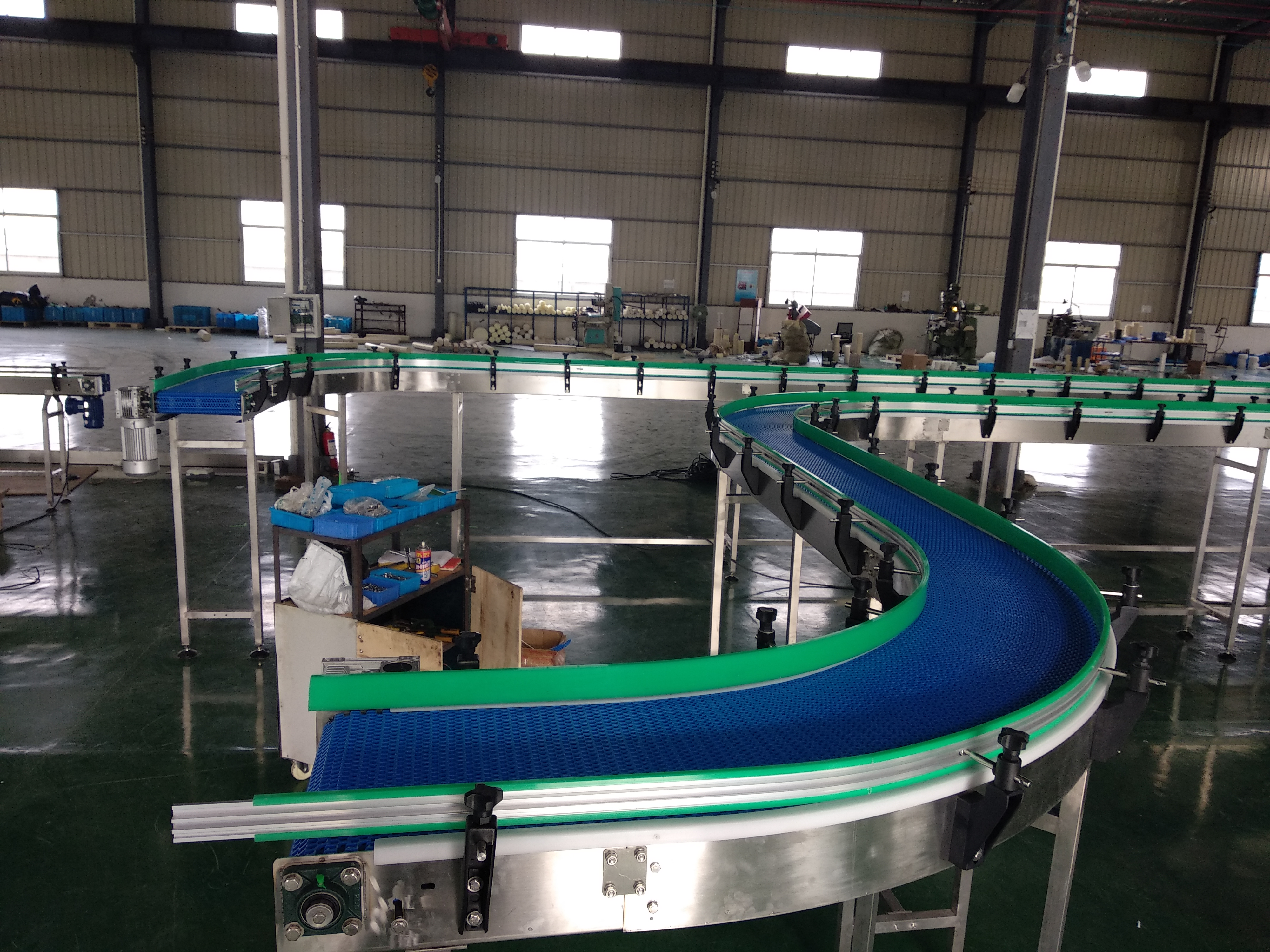 Hairise 2400 Modular belt Conveyor