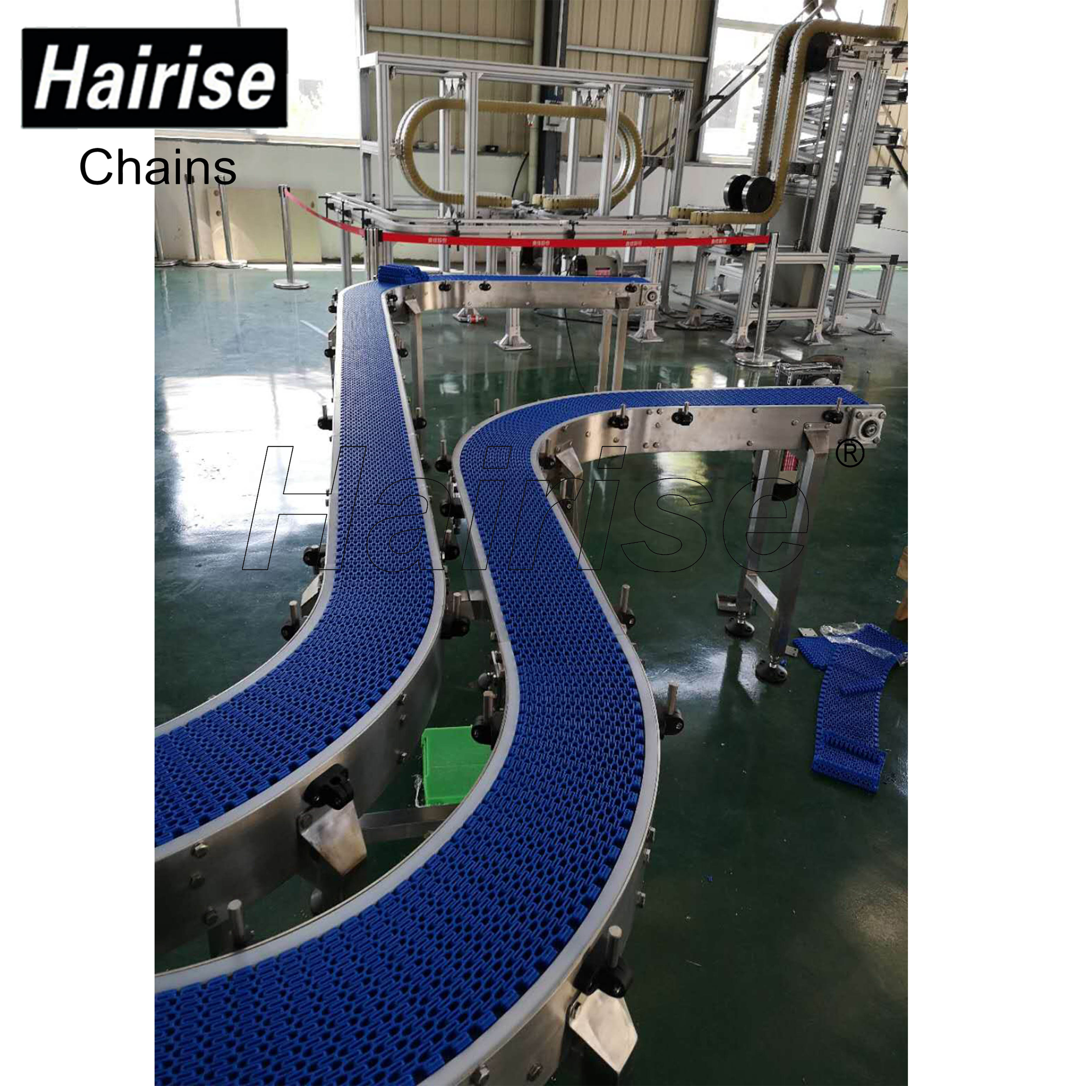 Hairise Plastic Modular Belt Conveyor with Turn Featured Image
