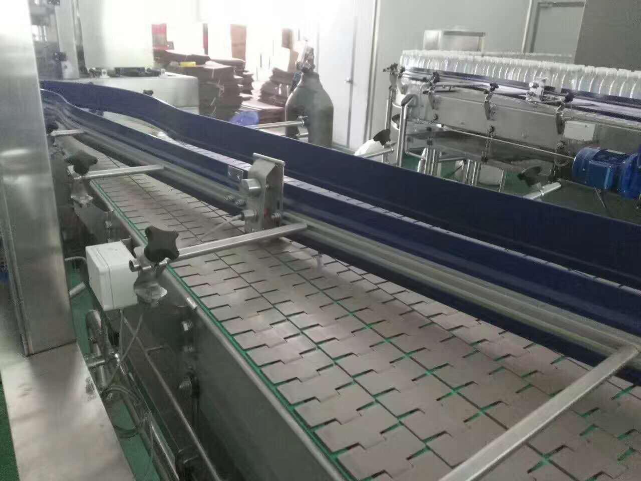 Hairise 820 Straight Slat Top Chain Conveyor