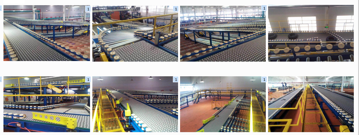 Har400 rollers modular belt application