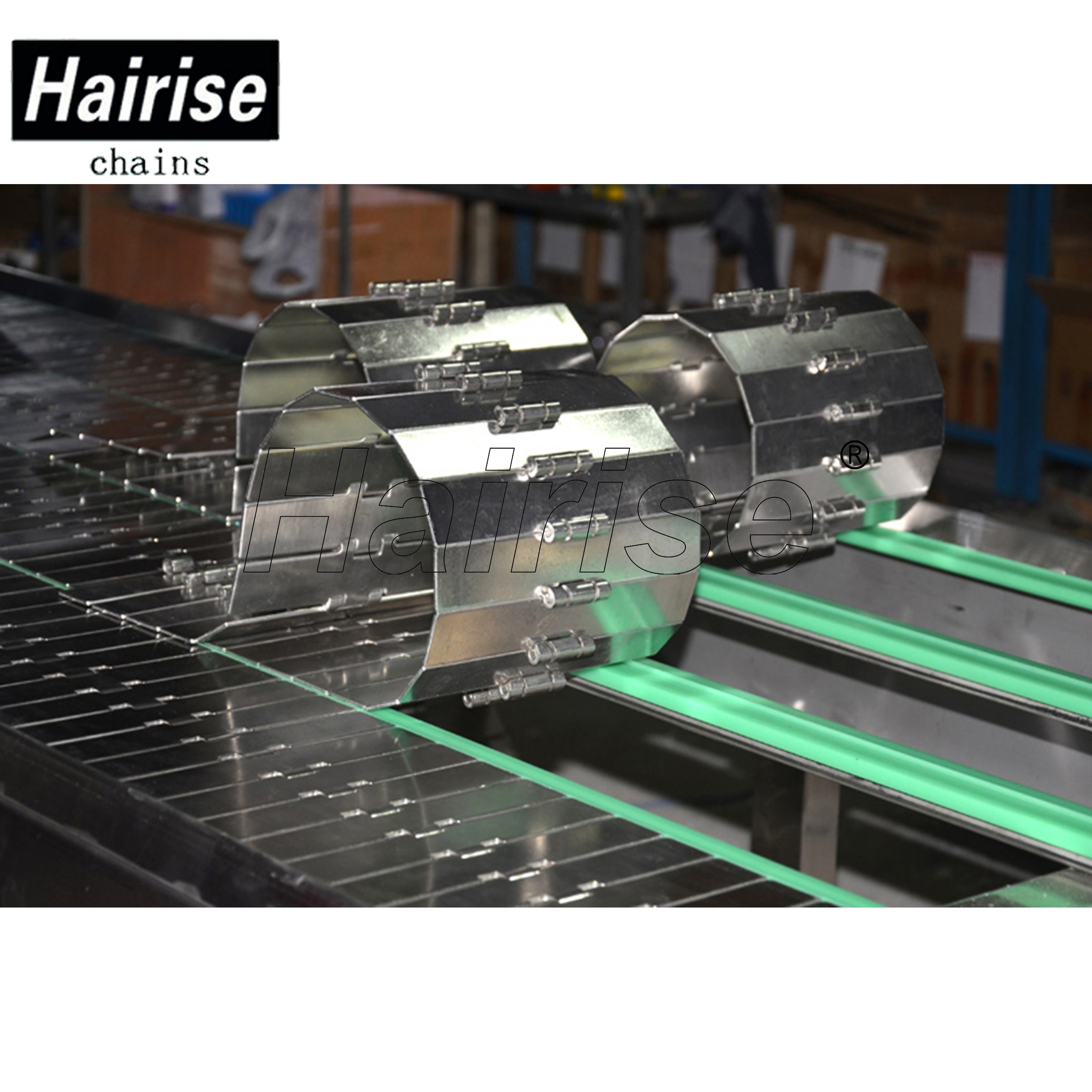 Hairise Straight Conveyor with Steel Table Top Chains Featured Image