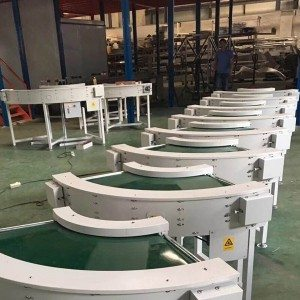 Hairise Curve PVC Belt Conveyor Sale in America