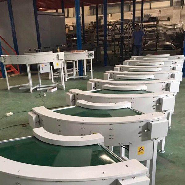 Hairise Curve PVC Belt Conveyor Sale in America Featured Image