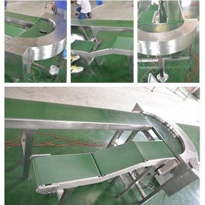 Hairise Inclined PVC Belt Conveyor
