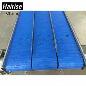 Hairise Straight Conveyor with Flat Type Modular Belt