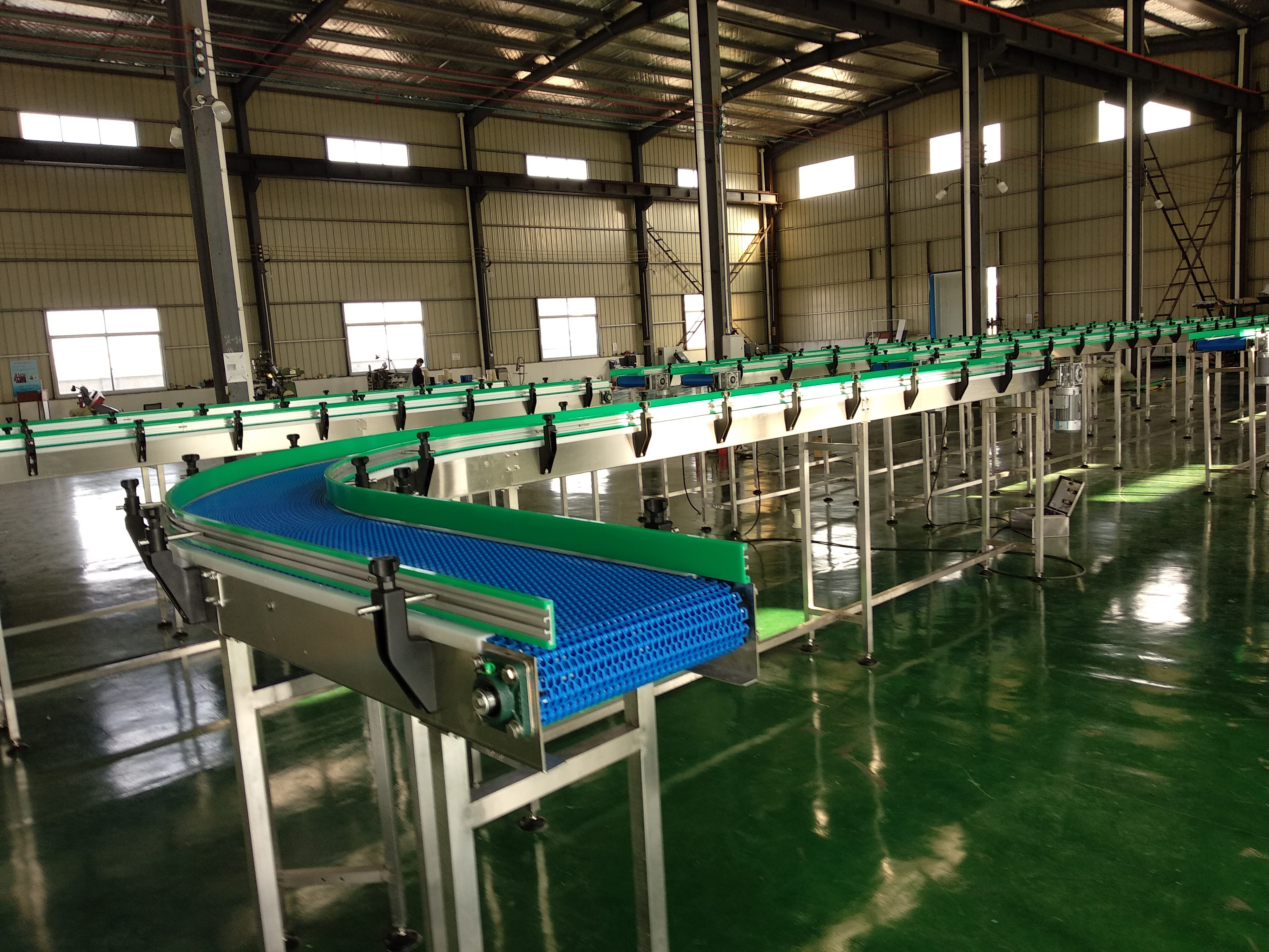 Hairise 2400 Modular belt Conveyor Featured Image