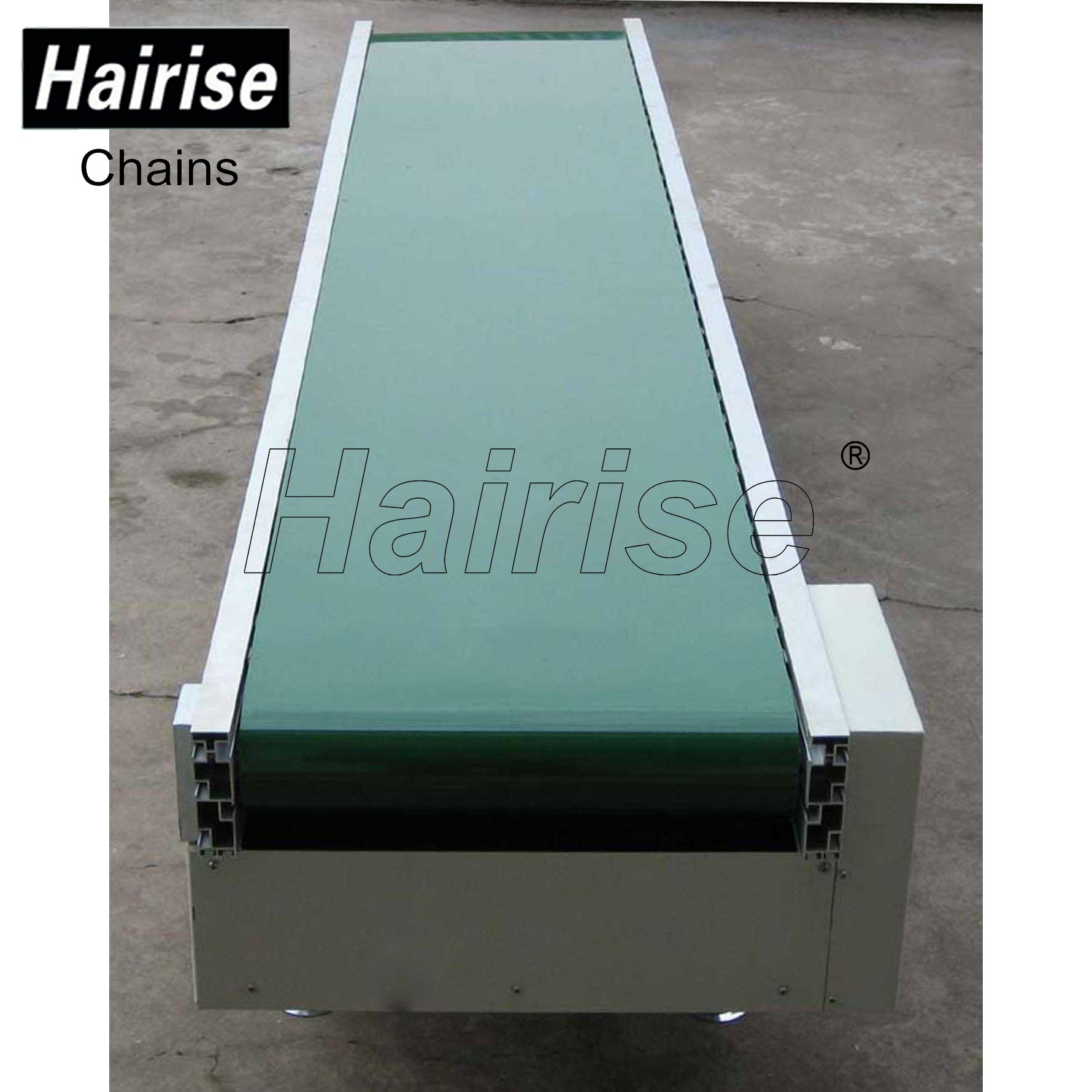 Hairise Straigh PVC Belt Conveyor System with Adjustable Speed Featured Image
