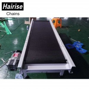 Hairise Food Grade PVC Belt Conveyor with CE