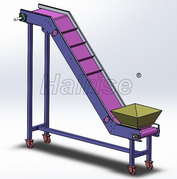Hairise PVC Belt Inclined Conveyor in Nuts Industry Featured Image