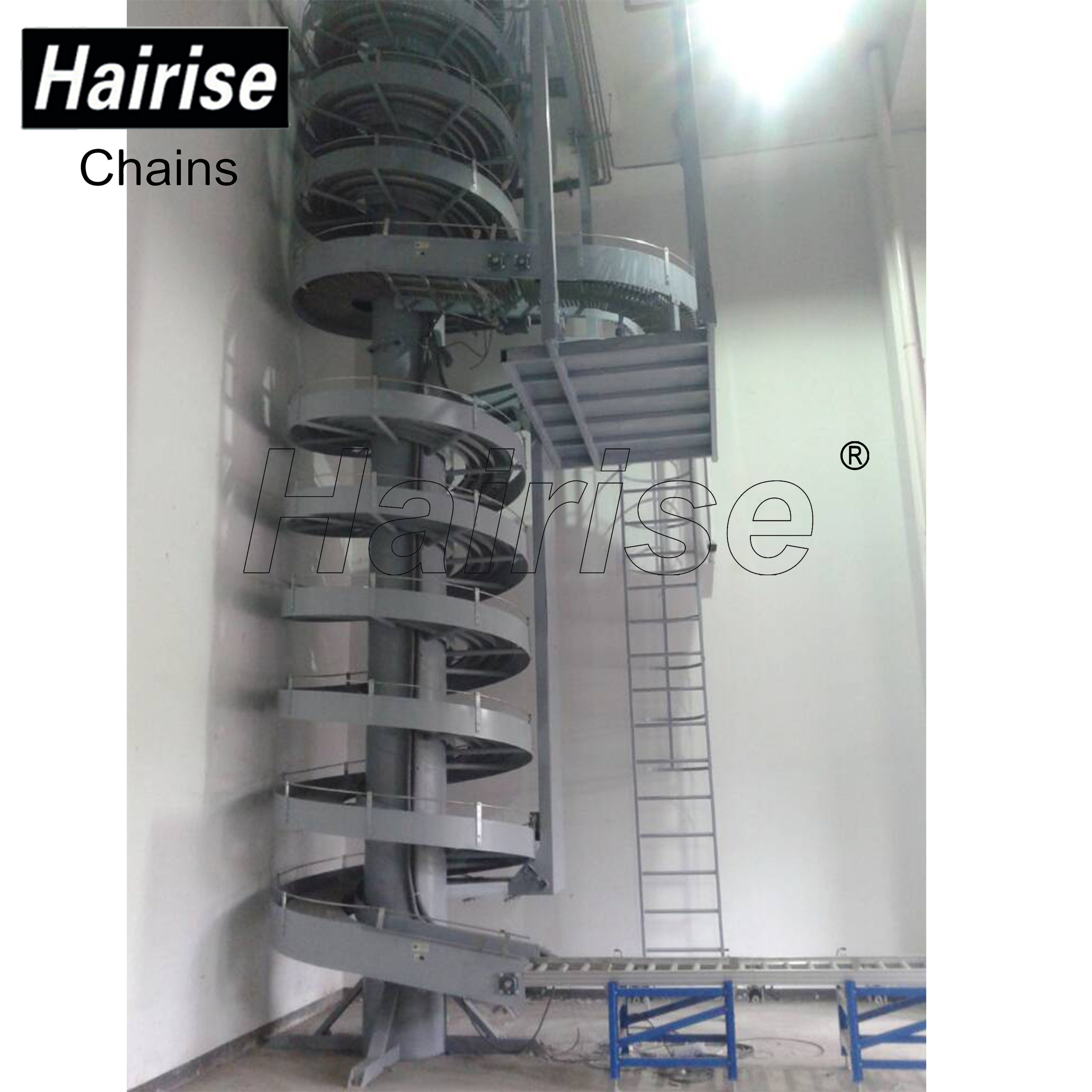 Hairise Huge Spiral Conveyors for Manufacturing