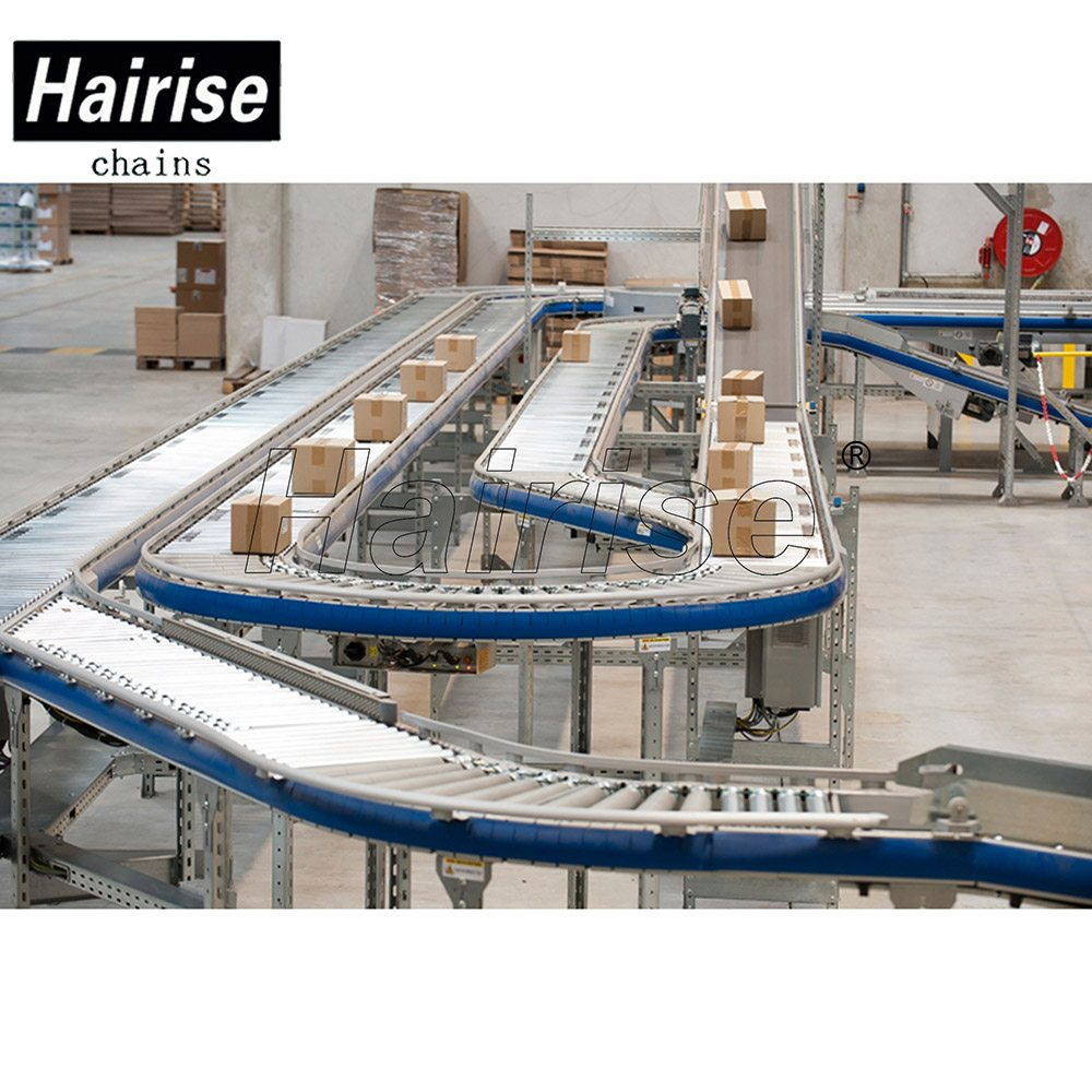 Hairise Straight/Curve Roller Conveyor for Boxes Conveying Featured Image