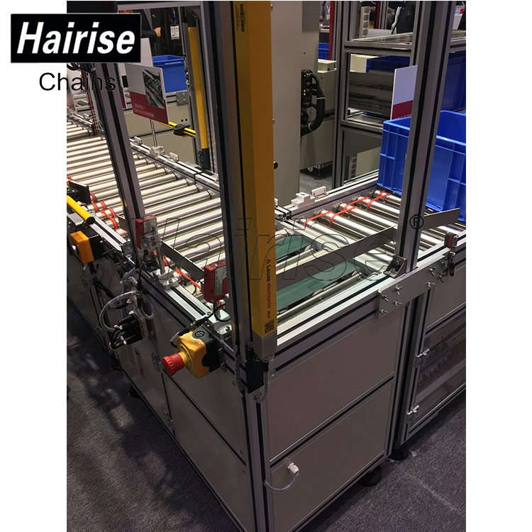 Hairise Roller Conveyors for Boxes Transferring