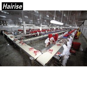 Hairise Food Grade Modular belt Conveyor for Slaughter Line
