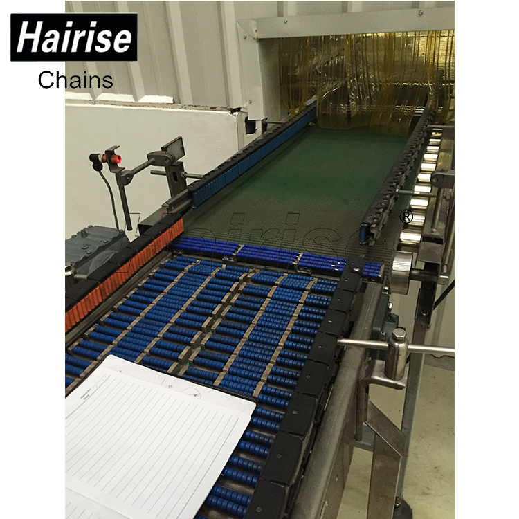 Hairise Top Roller Chain Conveyors for Heavy Products